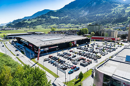Luftaufnahme Tirol